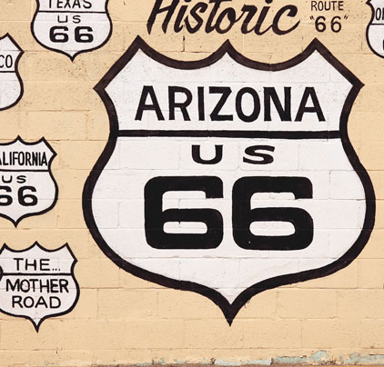 Route 66 Roadmap to Freedom