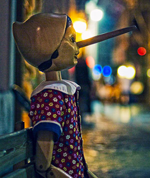 Pinocchio - Creative Commons by Michiel Jelijs